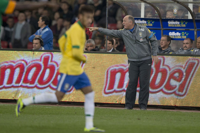 With stars like Neymar (left) at his disposal, Brazil manager Luiz Felipe Scolari has no problems guaranteeing that the Selecao will capture the 2014 FIFA World Cup on home soil.