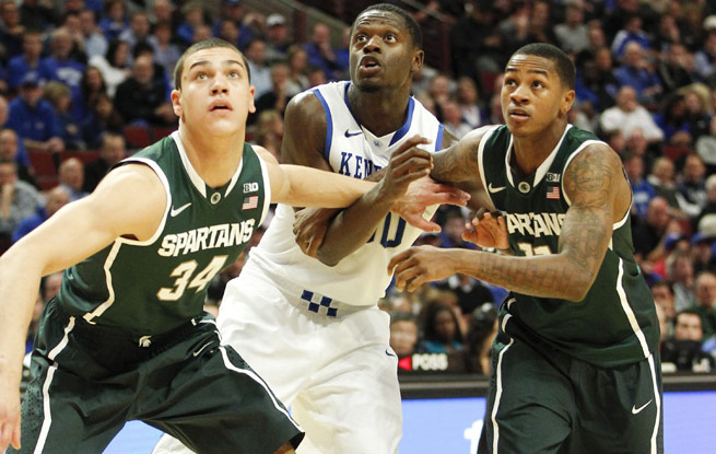 Julius Randle showed top-pick potential with his 27 points and 13 boards against No. 1 Michigan State.