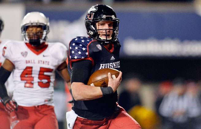 Quarterback Jordan Lynch has Northern Illinois in BCS bowl contention for the second consecutive year.
