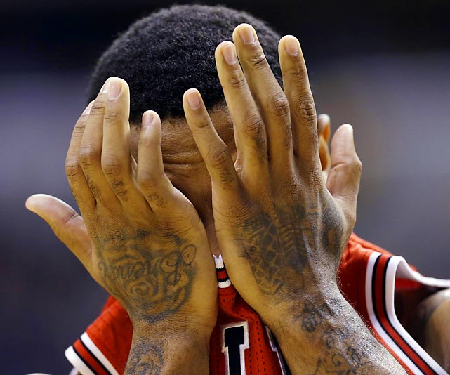 Welcome to another eyesore installment of <italics>Did You See That?</italics>, the photo gallery that inspires reactions like Mr. Rose's as his Bulls were being gored by the Pacers, 97-80, in Indianapolis.