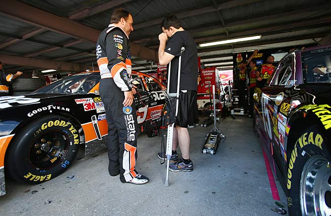 Three surgeries have made Tony Stewart appreciate the simple act of getting around on his own.