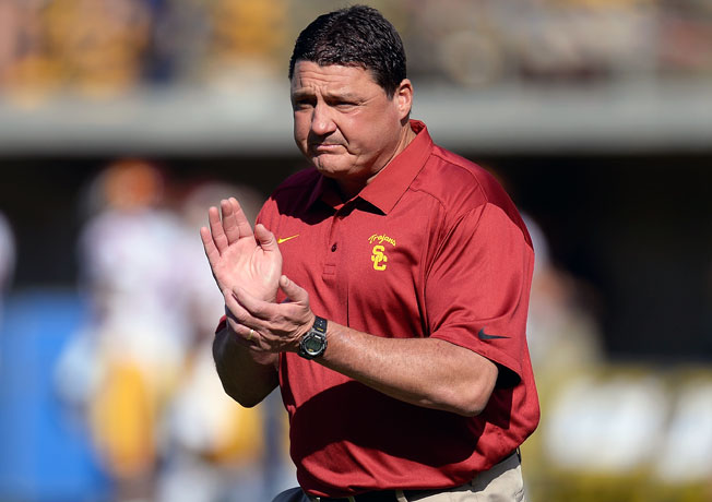 After finding success as USC's interim coach, Ed Orgeron has gained momentum for the permanent job.