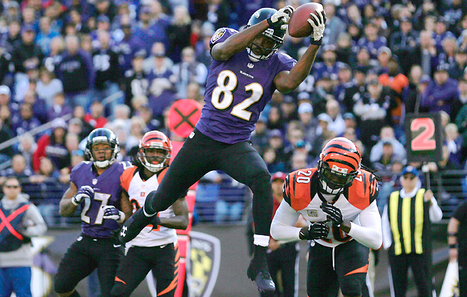 The Ravens will be utilizing Torrey Smith and the passing game to avoid the Jets run defense.