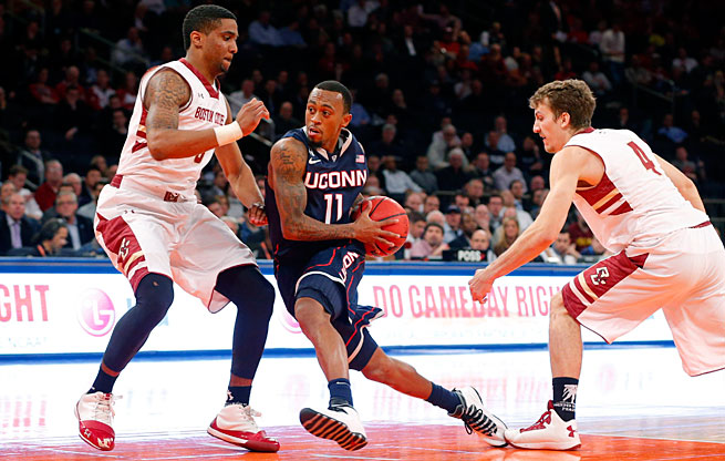 Ryan Boatright is looking to drive the Huskies back to a familiar place: the NCAA tournament.
