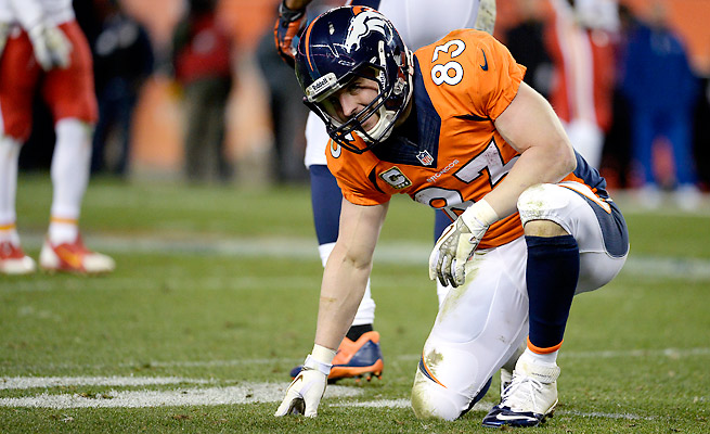 Wes Welker suffered a concussion in the Broncos' victory over the Chiefs last week.