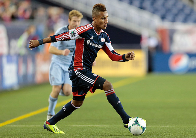 Juan Agudelo played in 14 games and netted 7 goals for the Revolution in MLS this season.