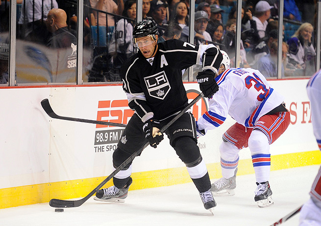 Los Angeles' offense will be glad to welcome back Jeff Carter and his goal-scoring ability.
