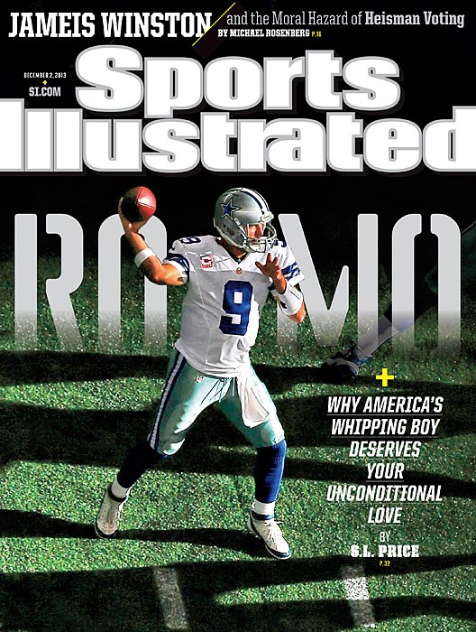 "Why does America hate Tony Romo? That's the question posed by the cover story of this week's issue of Sports Illustrated. The Cowboys' quarterback is rarely included in the discussion of elite QBs. He probably wouldn't even make the top five. But S.L. Price details why Romo ""deserves your unconditional love."""