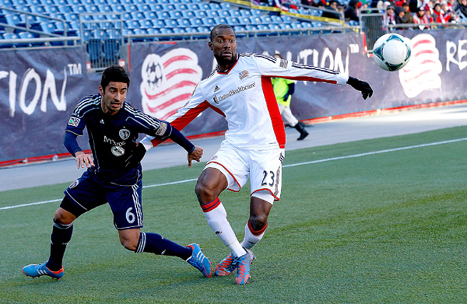 The New England Revolution's Jose Goncalves was named MLS Defender of the Year in his first season in the league.