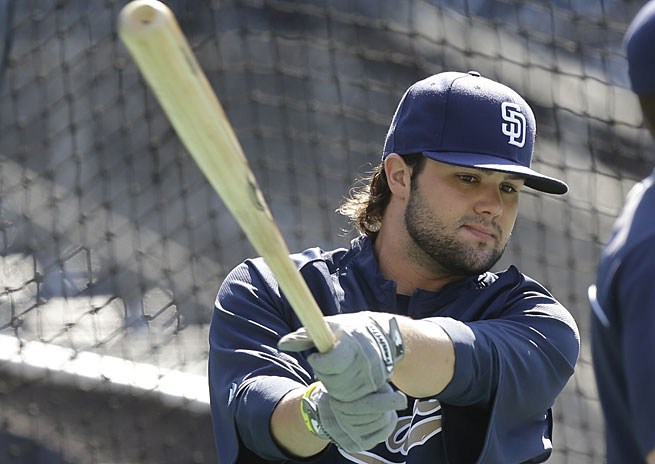 Jaff Decker played just 13 games for the Padres in 2013.
