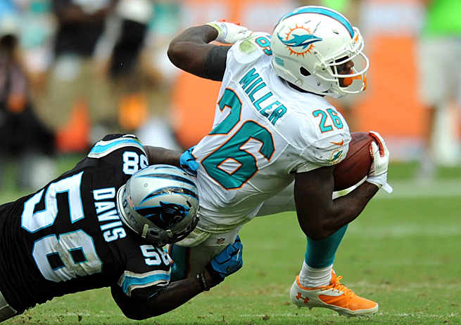 Lamar Miller has an opportunity for a big game against the Jets with Daniel Thomas injured.