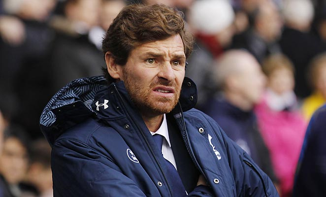 Tottenham boss Andre Villas-Boas got a better performance on Sunday, but not the desired result.