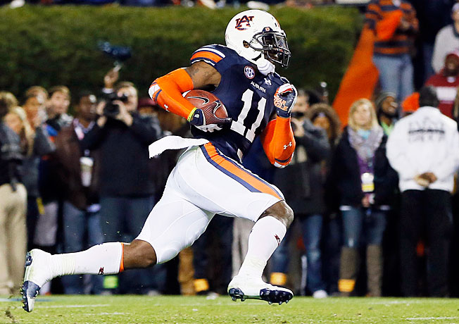 Chris Davis' missed field goal return for a touchdown has Auburn in this year's BCS title conversation.