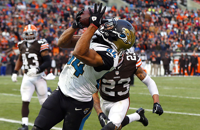 Cecil Shorts beat Joe Haden for a TD with just 40 seconds left, clinching the Jaguars' win vs. the Browns.