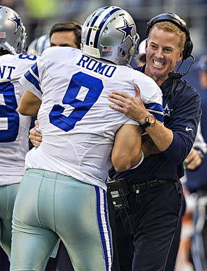 Jason Garrett and Tony Romo have had more success than failure this season.