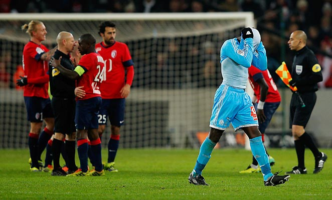 Lille got a late goal from Nolan Roux to defeat Marseille in Ligue 1 on Tuesday.