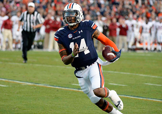 Nick Marshall showed why he's the SEC's most electrifying player, racking up three scores on Alabama.
