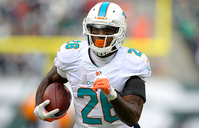 Lamar Miller is now getting the majority of the carries for Miami, and has a big opportunity against the Steelers.