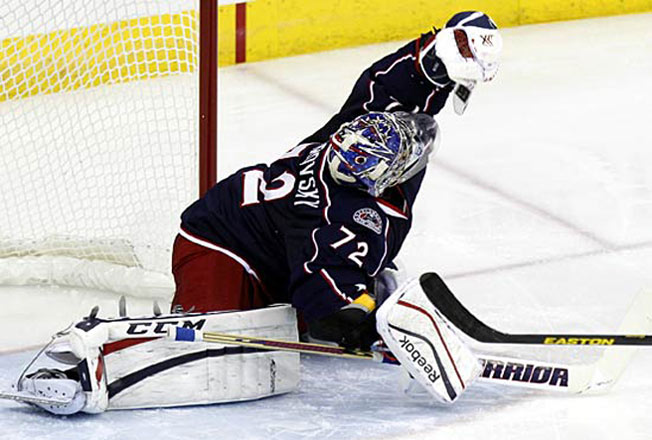 Sergei Bobrovsky has been struggling to regain his 2013 Vezina Trophy-winning form.