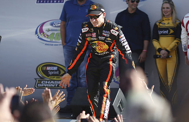 Mark Martin's induction into the Hall of Fame could come a lot sooner than he may have thought.