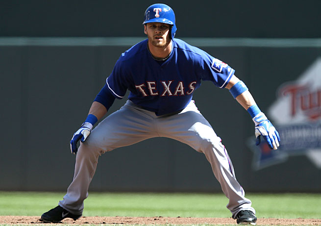 Craig Gentry is on his way from Texas to Oakland as part of another trade involving established players.