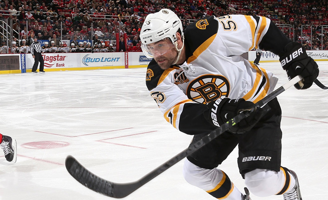 Johnny Boychuk will miss up to one week with a sprained back he sustained while playing against Montreal.