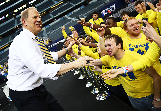 John Beilein knows his team must play more consistently if it wants to return to the Final Four.