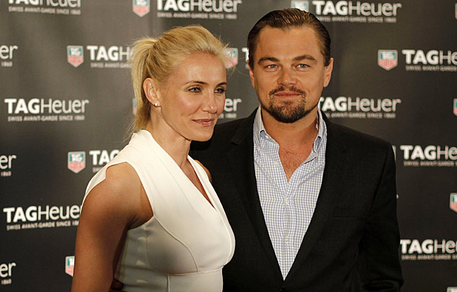 Leonardo DiCaprio and Cameron Diaz attended the Monaco Grand Prix Party in Monte Carlo last May.