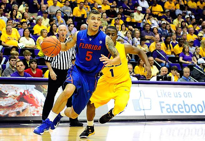 The Gators have battled suspensions and injuries, but Scottie Wilbekin's return would be a boost against Kansas.