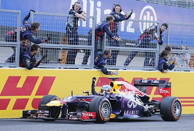 Formula One's points plan would make it easier for drivers to catch runaway champion Sebastian Vettel.