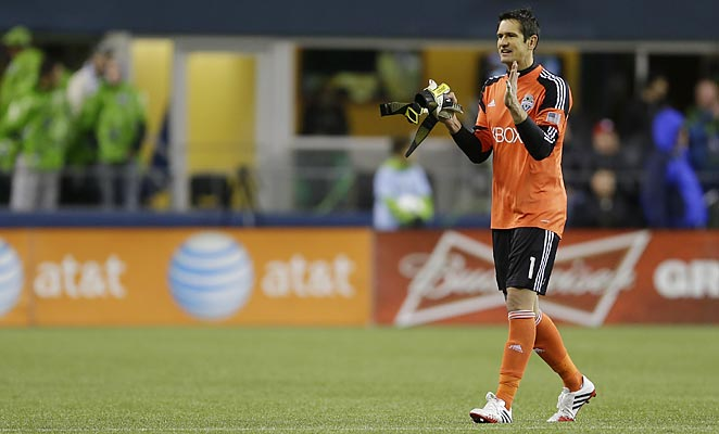 Michael Gspurning was an MLS Goalkeeper of the Year finalist in 2012, but his form dipped in the 2013 season.