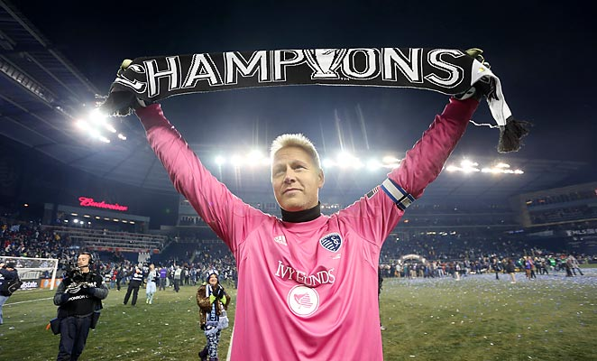 Jimmy Nielsen spent the last four years of his career in Kansas City, winning an MLS Cup, U.S. Open Cup, and the 2012 MLS Goalkeeper of the Year award.