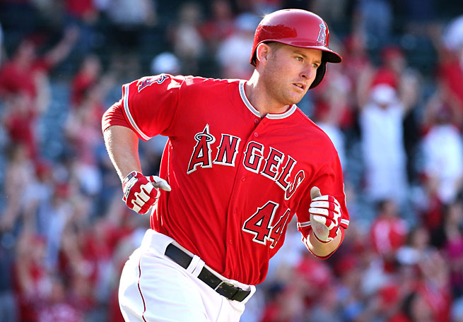 Mark Trumbo was traded to Arizona in a three-team deal that also involved the Angels and White Sox.