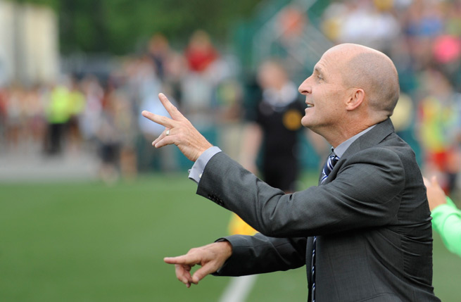 The NASL champion Portland Thorns hired Paul Riley to be the club's new head coach.