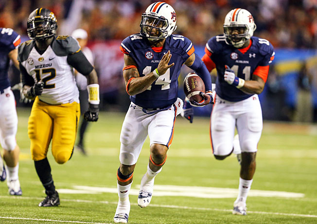Nick Marshall and Auburn won their final nine games to secure a spot in this year's BCS championship.