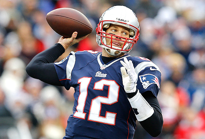 Tom Brady has been playing well, but could regress this week without Rob Gronkowski on the field.