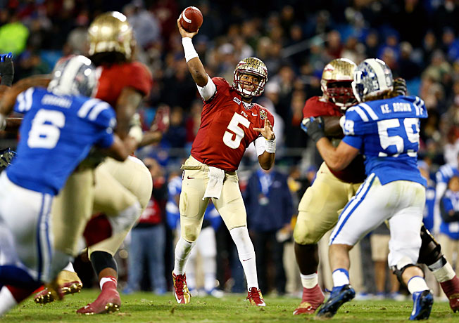 Jameis Winston is poised to become the second straight redshirt freshman to win the Heisman Trophy.