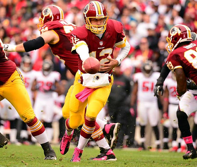 Kirk Cousins can continue to make a name for himself when the Redskins take on the Cowboys Sunday.