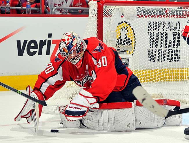 Backup Michal Neuvirth had appeared in only seven games as Braden Holtby got the bulk of the work.
