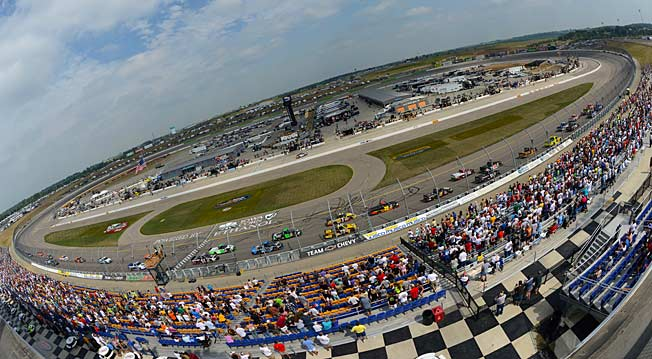 NASCAR says it has no immediate plans to award a Sprint Cup race to Iowa Speedway.
