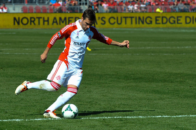 Veteran Bobby Convey is headed to New York after the Red Bulls traded two draft picks for him on Friday.