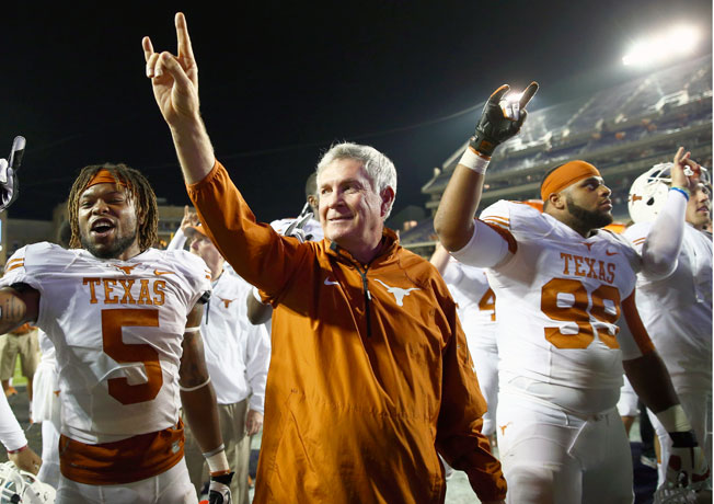 Mack Brown went 158-47 during his 16-year tenure at Texas, including winning the 2005 national title.