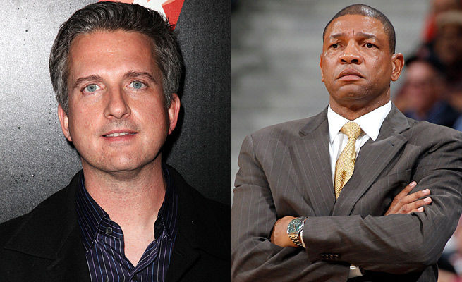 ESPN's Bill Simmons (left) was critical of Clippers coach Doc Rivers' departure from Boston.