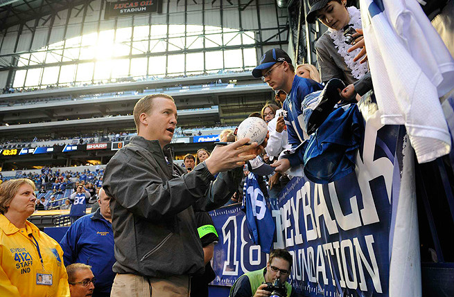Manning emerged a different quarterback and different man after neck surgery sidelined him in 2011.