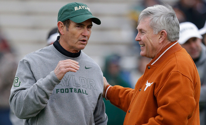 Baylor coach Art Briles has a history in Texas that would make him a natural fit to replace Mack Brown.