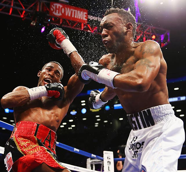 Like his Cuban countryman, Guillermo Rigondeaux, Lara has a style that isn't particularly pleasing. But it is effective. In December, Lara dominated former junior middleweight titleholder Austin Trout, dropping him once in a lopsided decision. Lara is a brilliant counterpuncher, accurate with surprising power. He hopes to fight Saul Alvarez in his next fight. All records through Dec. 15, 2013