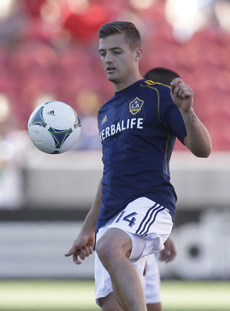 Robbie Rogers became the first openly gay male athlete to play in a major U.S. sports league, returning to MLS and suiting up for the LA Galaxy.