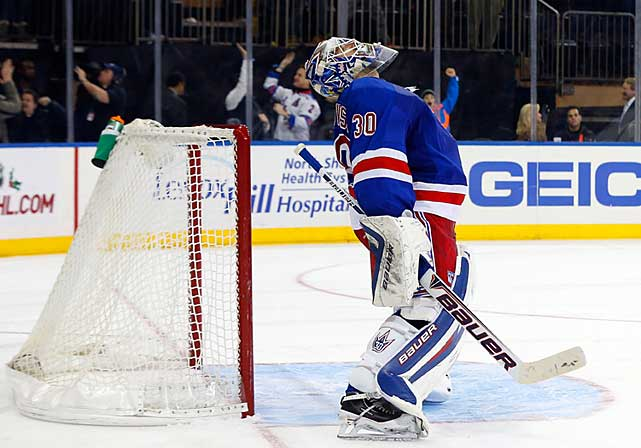 Earlier in the season, King Henrik could easily have been distracted by the contract discussions that dragged on into early December. But even after he signed his new seven-year, $59.5 million deal that will keep him on Broadway until age 39, the 2012 Vezina Trophy-winner has let in a surprising number of goals on his glove side, and the Rangers are a game below .500 while the numbers for New York's back-up, Cam Talbot (6-2-0; 1.74; .934), are better than those of the team's more esteemed starter (10-14-1; 2.71; .909). -- <italics>Brian Cazeneuve</italics> <bold>Ten Best NHL Player Surprises</bold>