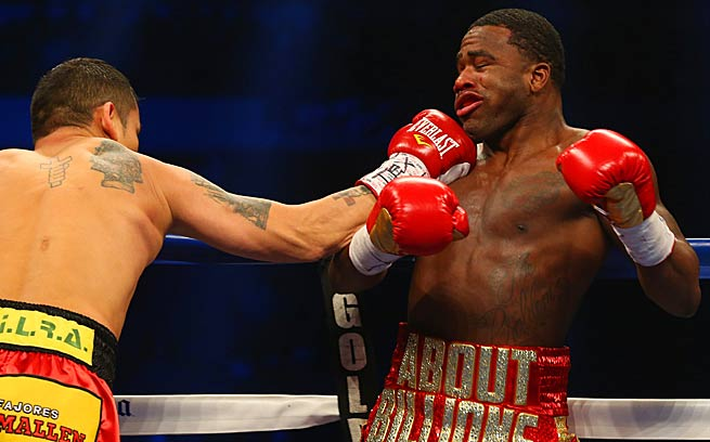 Marcos Maidana, left, took the fight to Adrien Broner and walked away with a unanimous decision.