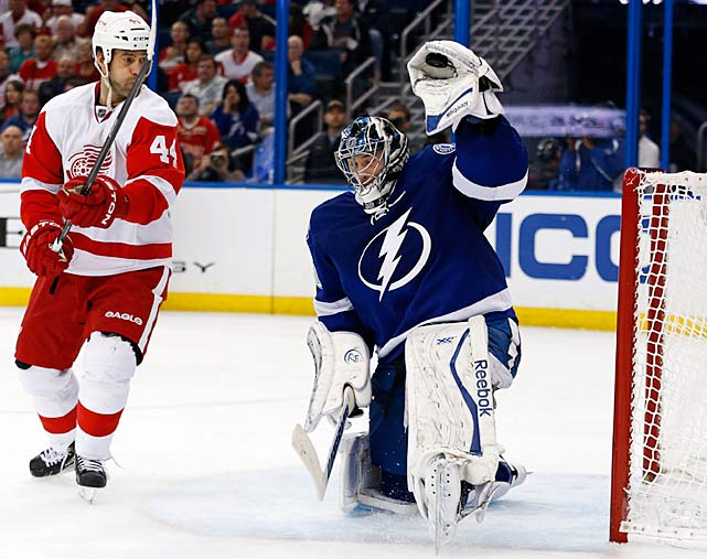 "With sniper Steven Stamkos (broken leg) out of the lineup, the Bolts had to keep their goals-against totals down, especially after last season when they finished 26th in the league in that category. Bishop, the NHL's tallest goalie at 6'-7"", has come up big. His career mark was 18-17 after parts of five seasons, but he's off to a 17-5 start with a 1.97 GAA. His teammates describe him as a confident communicator who assertively directs traffic and barks out instructions for his defensemen. Judging by Tampa Bay's improved record (19-11-3) and 11th-ranked defense (2.39 GAA), Bishop's troops have been marching in step. -- <italics>Brian Cazeneuve</italics> <bold>The 10 Worst NHL Player Surprises</bold>"